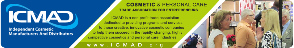 Member of Independent Cosmetic Manufacturers and Distributors